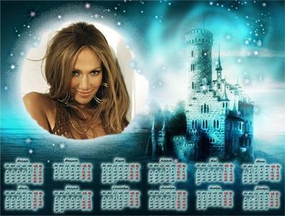 Волшебный календарь с фото, вставить фото онлайн сделать oline