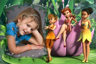 Вставить детское фото в рамку с тремя феями из сказки ...: http://effectfree.ru/photoeffects/2341.html