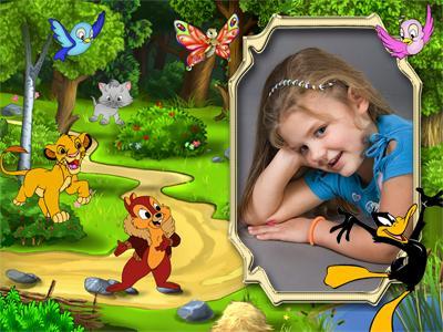 Красивые рамочки для детей с героями