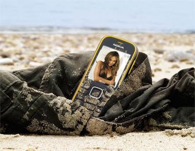 Фотоэффект на экране мобильника
