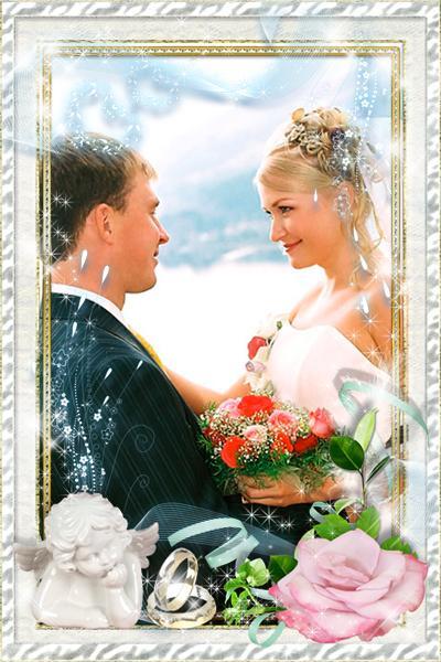 Открытки, вставить свое фото в картинку свадебную онлайн
