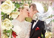 Свадебная фоторамка онлайн бесплатно вставить фото